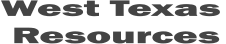 West Texas Resources Logo
